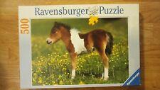 Puzzle 500 pièces Ravensburger Occasion Poney Shetland