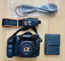 Sony a77 Alpha SLT-A77 24.3MP Digital SLR Camera - Black (Body only)