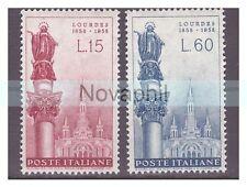 ITALIA  1958 -  MADONNA DI LOURDES  SERIE  NUOVA **