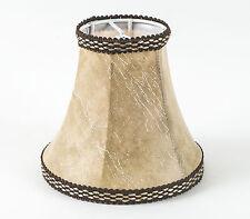 Lampenschirm zum Aufstecken Klassisch Nachttischlampe  Kronleuchter E-14 #1