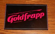 Goldfrapp Black Cherry Sticker Rectangle Promo 5x3