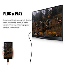 1.8m Slimport MyDP to HDMI HDTV TV Video Adapter Cable for LG G3 G2 Nexus 4 5 UK