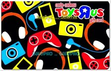 TOYSRUS GAME CONSOLE HEADPHONE IPOD JOYSTICK TOYS CAMERA COLLECTIBLE GIFT CARD