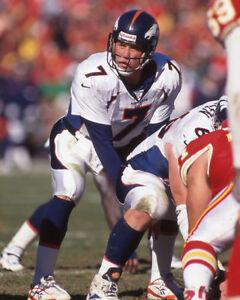 1998 Denver Broncos JOHN ELWAY Glossy 8x10 Photo Football Print Poster