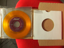 """BEATLES SP 45T 7"""" US JUKE BOX Let It Be / You Know My Name Yellow vinyl 1994"""