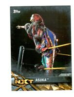 WWE Asuka NXT-25 2017 Topps Women's Division Parallel Card SN 46 of 50