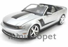 MAISTO 31669 2010 FORD MUSTANG ROUSH 427R CONVERTIBLE 1/18 SILVER