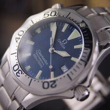 authentische omega seamaster professional 300m datum taucher quarz herren armbanduhr