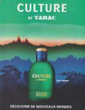 Publicité papier  - advertising paper - Culture by Tabac
