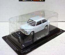 SEAT 850 1967 BLANCO WHITE 1/43 IXO RBA