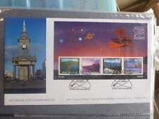 NEW ZEALAND 2001 A SPACE ODYSSEY STAMP EXPO MINI SHEET SOUVENIR COVER