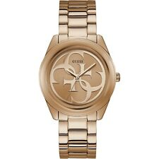 Guess Watch G Twist W1082L3 Polished RG Case With Classic Guess Logo