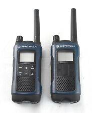 READ Motorola T460 Talkabout Weatherproof 35 mile 2-way Radios 2 Pack - 6991sw