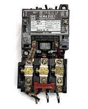 Square D NEMA Size 1 10 HP Starter
