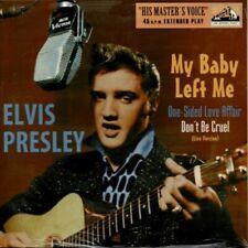 Elvis - MY BABY LEFT ME + 3 - 10'' Single - Cover 4 - Black Vinyl - New & Sealed