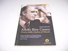 DIARIO DELLA GUERRA AL MAIALE ADOLFO B. CASARES ED.CAVALLO DI FERRO OTTIMO RARO!