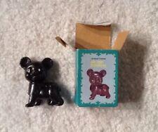 Antique Finished Pencil Sharpener Bear Die-Cast Miniature w/ Box #928