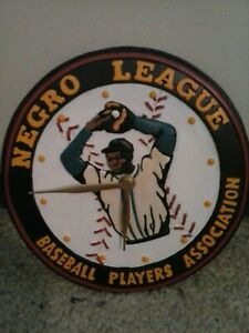 "Rare Negro League Baseball Players Association Clock 9"""