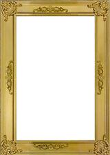 Barock Bilderrahmen Massiv Holz Antik Gold DIN A 1