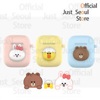 Official Line Friends Baby Soft Jelly Airpods Case Cover + Free Tracking