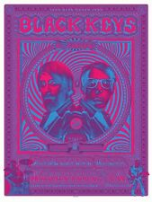 The Black Keys 2014 Turn Blue Tour PINK Poster Print EMEK Nashville TN Signed #d