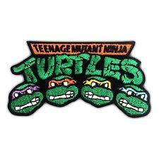 Teenage Mutant Ninja Turtles Embroidery Patch Retro Iron On Applique Cartoon Sew