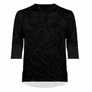 Primal Wear Spider Bite Men's Ilex Relaxed Fit pull over 3/4 sleeve MTB Jersey