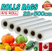 Vacuum Sealer Bags Reusable Kitchen Food Saver Fresh-keeping Storage Bag CA