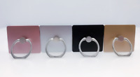 4-Pack Finger Ring Holder Stand 360 Rotate Kickstand for Phone Pads random color
