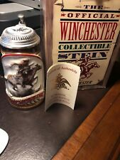 Winchester Collectible Stein Limited Edition Pewter