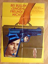 ALAIN DELON Farewell Friend -  scarce 1-sheet 1968 ADIEU L'AMI Charles Bronson