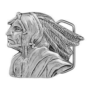 Geronimo Profile Belt Buckle 06-ING IMC-Retail