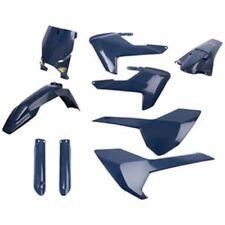 Husqvarna TC TE TX 125 150 250 300 Cycra Powerflow Full Plastic Body Kit Blue