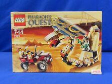 LEGO 7325 Pharaoh's Quest Cursed Cobra Statue 213 Pieces 2011 Sealed in Box