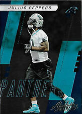 2017 ABSOLUTE JULIUS PEPPERS CAROLINA PANTHERS UNC TAR HEELS PACKERS 1 FREE SHIP