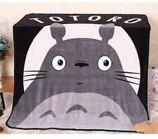 My Neighbor Totoro Soft Fleece Bedding Throw Blanket Rug Kids Xmas Gifts Anime