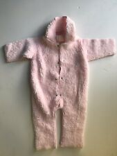 Corky & Company Girls 12-18 Month Cozy Suit Pink Hooded