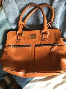 Large Tan Pippa Modalu Leather Bag
