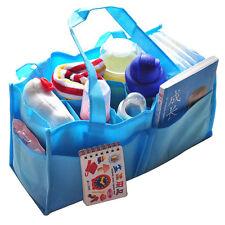 New Mummy Bottle Storage Multifunctional Separate Nappy Maternity Bag Blue Xmas