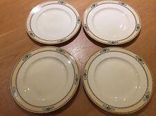 4 x Vintage BurleighWare Burgess & Leigh Salad/Sandwich Plates VGC