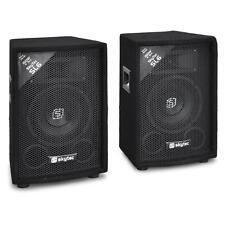 "PAIRE D ENCEINTES SONO COMPACTES DJ PA DISCO 15CM 6"" SYSTEME HIFI BASSES 2X 150W"