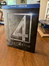 Fantastic Four (Blu-ray Disc, 2015, SteelBook Best Buy Exclusive
