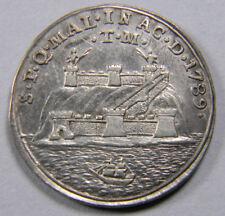 SPAIN MÁLAGA Charles IV 1789  Silver Proclamation medal - scarce
