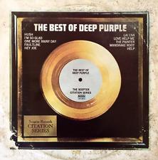 DEEP PURPLE - The Best Of Deep Purple (LP) (VG+/F-)