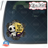 """Baby Jack Character """"BABY ON BOARD"""" Vinyl Car Decal Sticker"""