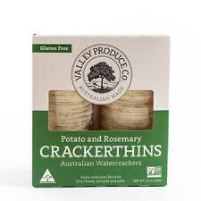 Gluten Free Crackerthins Australian Potato Crackers - Potato and Rosemary (5.3
