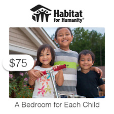 $75 Charitable Donation For: A Bedroom for Each Child