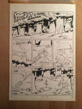 Cezard - Arthur le Fantôme - Planche gag originale - TBE