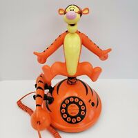 Tigger Animated Talking Phone - Winnie The Pooh - Telemania - Bouncing - Unique