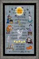 GLENDON PLACE Cross Stitch Pattern Chart ALL HALLOWS EVE Halloween